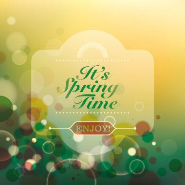 Abstract spring time background.