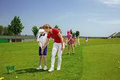 Fotografie children golf school
