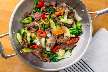 Beef stir fry from above
