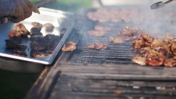 Török grillezés húsgombóc piknik