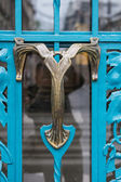 Photo Art Nouveau style doorknob