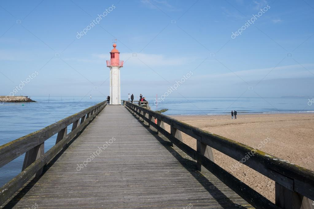 Picturesque view of lighthouse