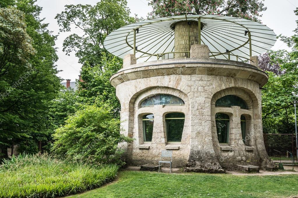 Art nouveau style pavilion