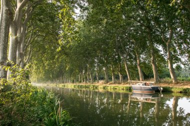 The Canal du Midi in the morning