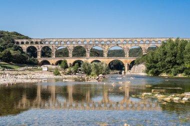 Pont du Gard in the morning