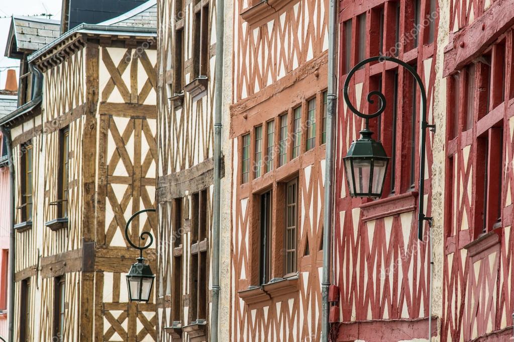 Casas de marco de madera — Foto de stock © hzparisien@gmail.com ...