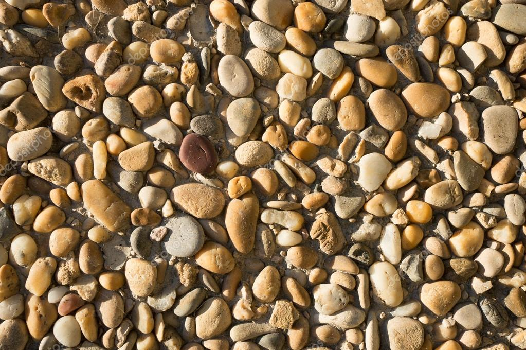 Little variety gravel stones