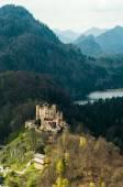 Fotografie Schloss Hohenschwangau in Bayerische Alpen