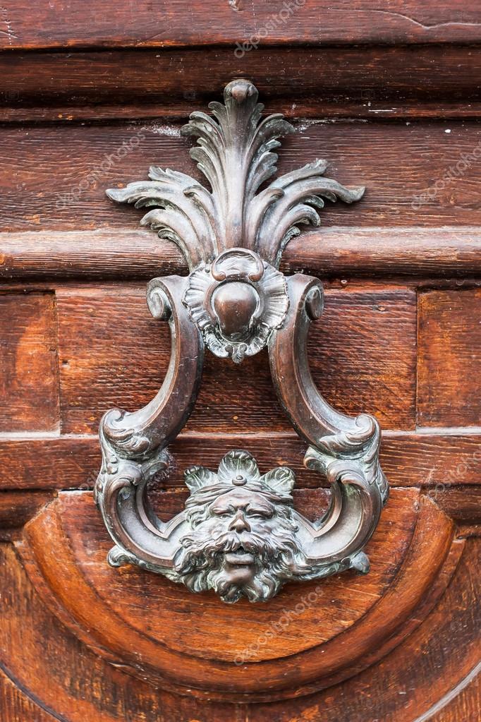 Vintage Metal Door Knob U2014 Stock Photo