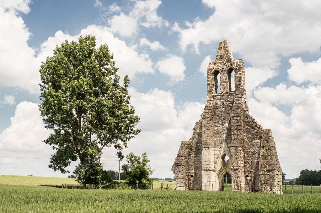 Ruin of Sainte Madeleine church
