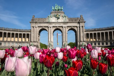 The Triumphal Arch in the Cinquantenaire park