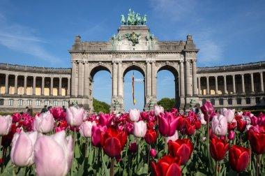 The Triumphal Arch in the Cinquantenaire park