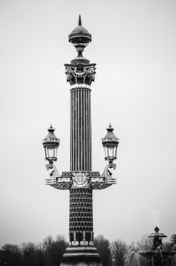 Street Lamps on the Concorde Square