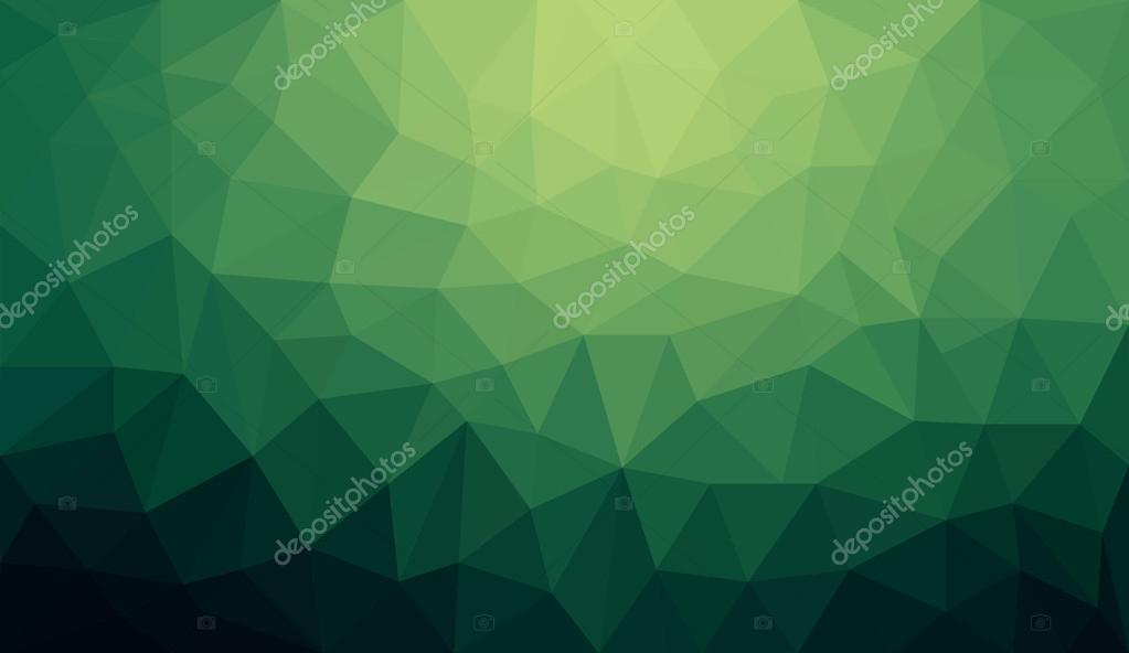 Background Polygon Green Green Gradient Abstract Polygon