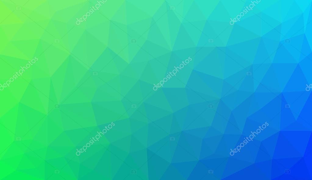 Sfondo Verde Sfumato Sfondo Verde Sfumato A Poligono Astratto Blu