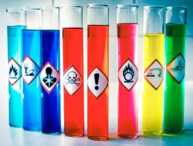 """Картина, постер, плакат, фотообои """"Соответствие химической опасности пиктограммы - опасность для здоровья"""", артикул 109943444"""