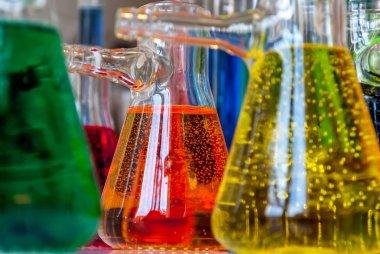 Chemistry bubbles with bubbles
