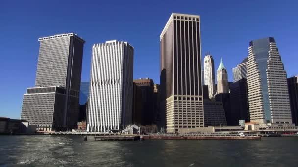 New York Skyline vom Hudson river