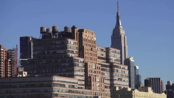 Manhattan Midtown, a Hudson folyó
