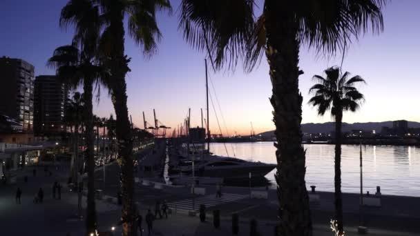 Nice evening shot of Port Malaga