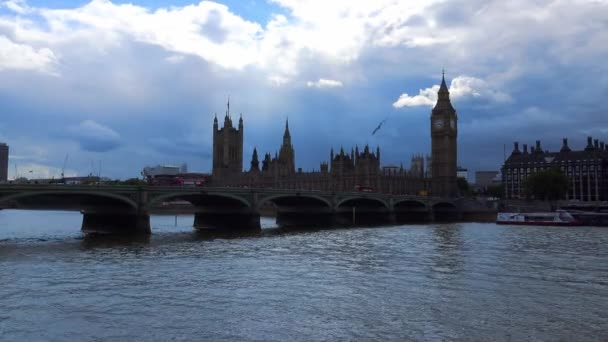 Westminster Bridge and Houses of Parliament with Big Ben