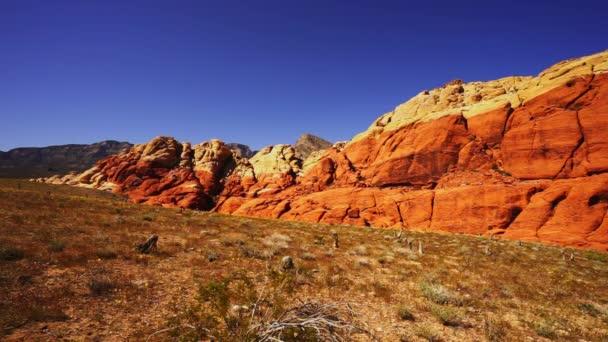 Široký úhel záběru Red Rock Canyon Nevada - Las Vegas, Nevada/Usa