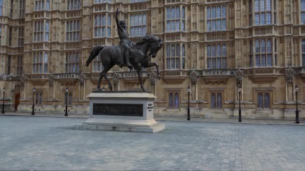 Statue des Oberhauses Westminster London