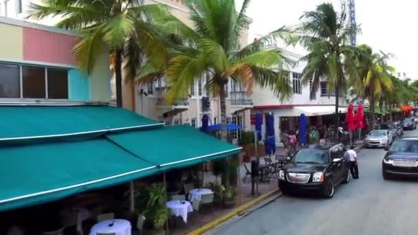 Bars And Restaurants On Ocean Drive Miami Beach