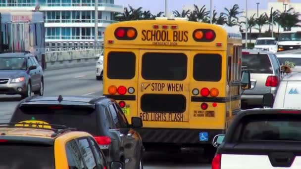 Školní autobus do Miami Beach