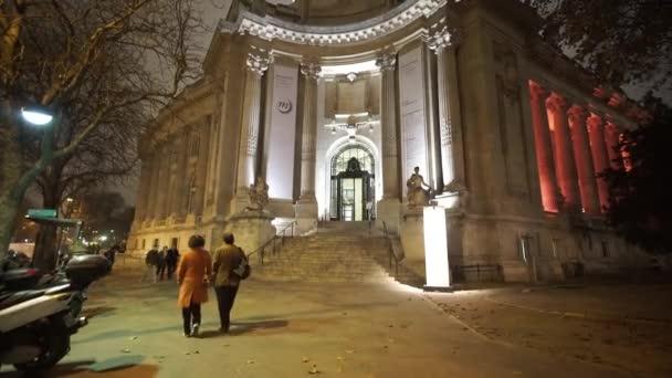 Big Palace exhibition hall called Grand Palais Paris - PARIS, FRANCE