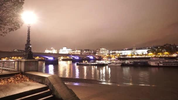 Pimlico panorama z Londýna southbank - Londýn, Anglie