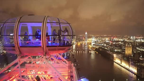 London Eye Capsule for editorial use only  - LONDON, ENGLAND
