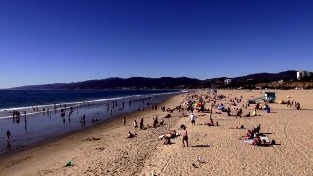 Santa Monica Beach Los Angeles LOS ANGELES
