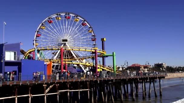 Ferris Wheel on Santa Monica Pier LOS ANGELES