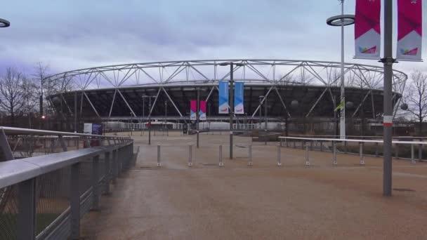 Olympic stadium at Queen Elizabeth Park  London, England