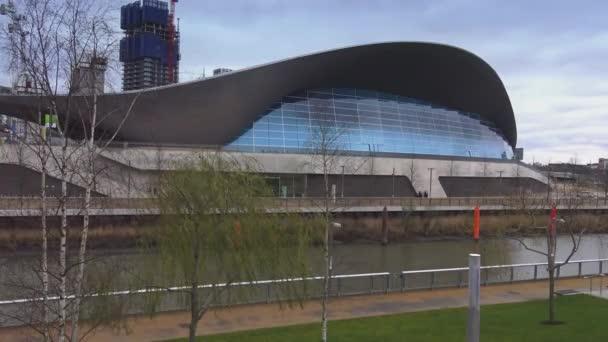 Aquatics centre at Queen Elizabeth Olympic Park