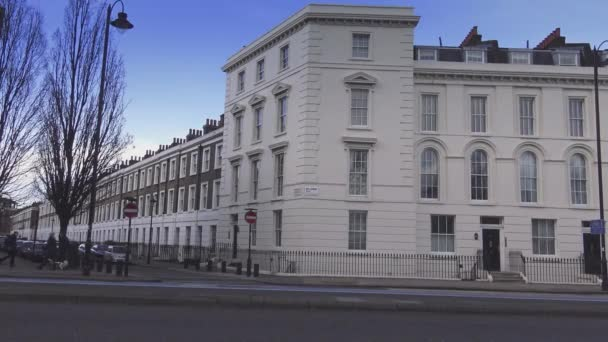 Krásné budovy v Londýně Millbank