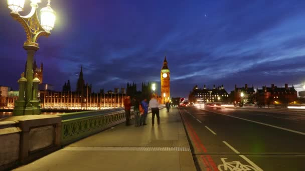 Awesome day to night time-lapse of Westminster with Big Ben London in 4k