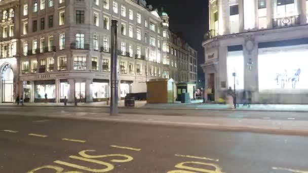 Time lapse shot of London Leicester Square Hyper lapse