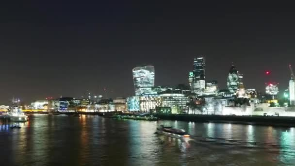Time lapse shot of Skyline of London