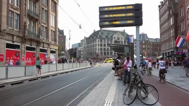 Tramvajová stanice amsterdam