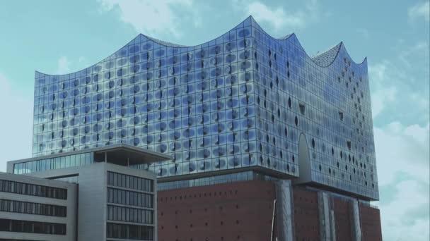 Elbphilharmonie-Gebäude am Hafen City Hamburg Hamburg Deutschland