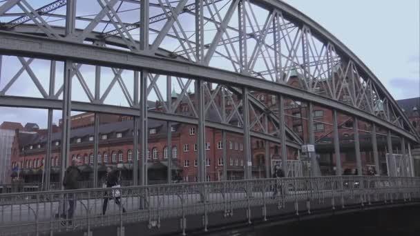 Brücke zum Warehouse Bezirk Hamburg Speicherstadt Hamburg Deutschland