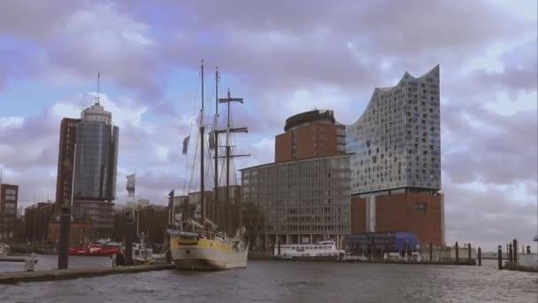Hafen City Hamburg mit Elbphilharmonie Bau Hamburg Deutschland