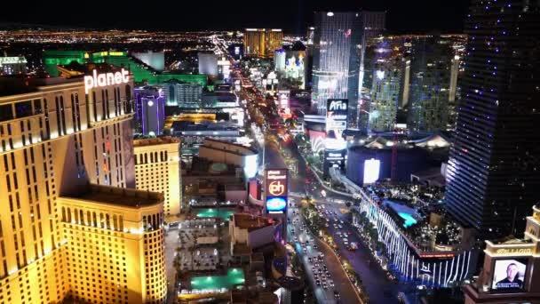 Úžasný noční pohled na Las Vegas strip Las Vegas Usa