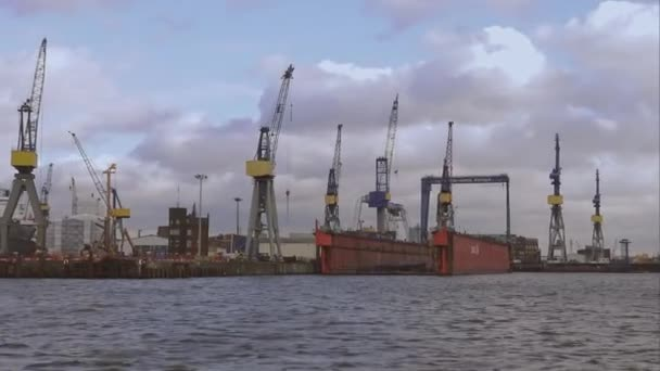 Hamburg Hafen Containerkräne Hamburg Deutschland