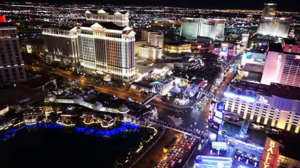 Skvělé Las Vegas Strip v noci letecký snímek - Las Vegas, Nevada/Usa