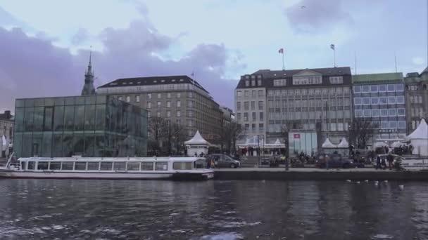 Hamburg Innenstadt Bereich Jungfernstieg an der Binnenalster Hamburg-Deutschland
