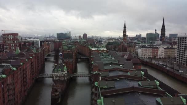 Berühmte Speicherstadt in Hamburg