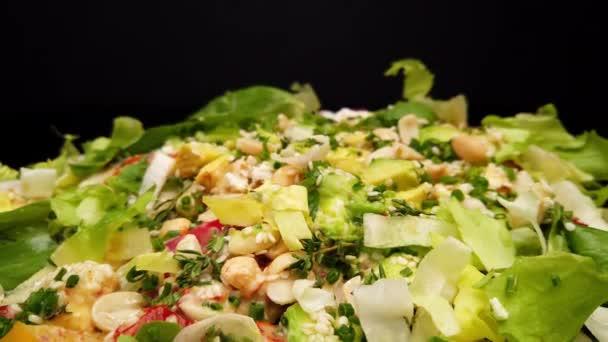 Fresh delicious Avocado Salad - food photography